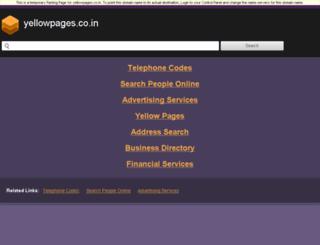 mumbai.yellowpages.co.in screenshot