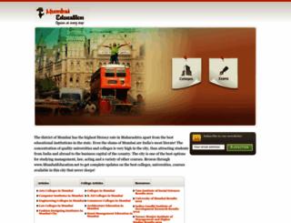 mumbaieducation.net screenshot