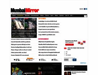 mumbaimirror.com screenshot