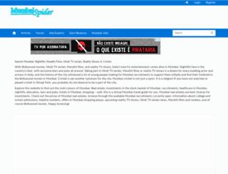 mumbaispider.com screenshot