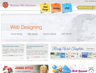 mumbaiwebsolutions.com screenshot