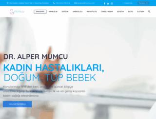 mumcu.com screenshot