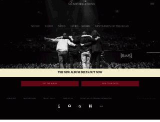 mumfordandsons.com screenshot
