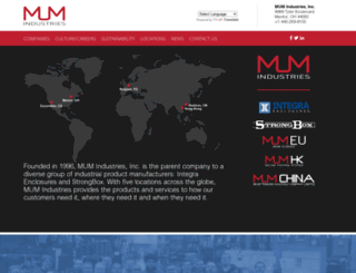 mumindustries.com screenshot