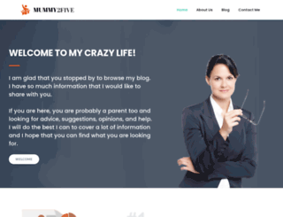 mummy2five.com screenshot