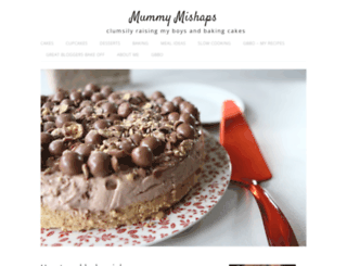 mummymishaps.blogspot.com screenshot