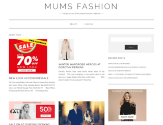 mumsfashion.com screenshot