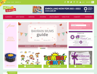 mumsinbahrain.net screenshot