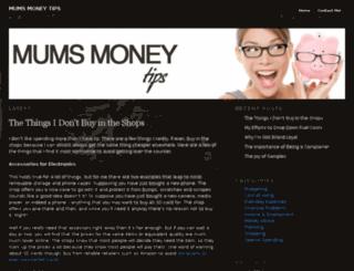 mumsmoneytips.co.uk screenshot