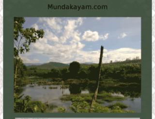 mundakayam.com screenshot
