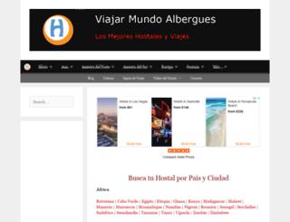 mundo-albergues.com screenshot