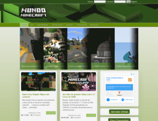 mundo-minecraft.com screenshot