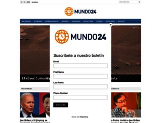 mundo24.net screenshot