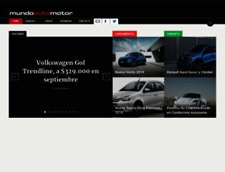 mundoautomotor.com.ar screenshot