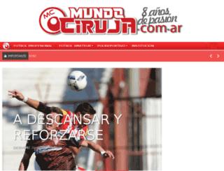 mundociruja.com.ar screenshot