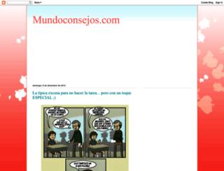 mundoconsejos-amor.blogspot.mx screenshot