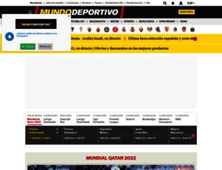 mundodeportivo.es screenshot