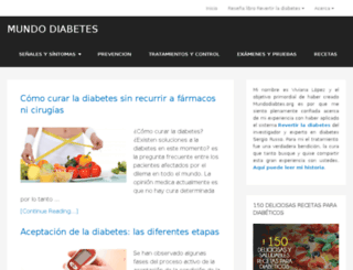 mundodiabetes.org screenshot