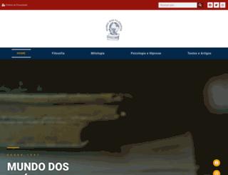 mundodosfilosofos.com.br screenshot