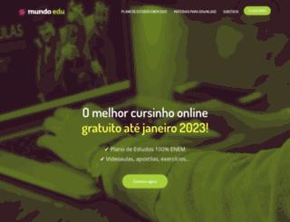mundoedu.com.br screenshot