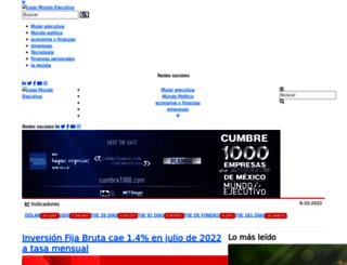 mundoejecutivo.com.mx screenshot