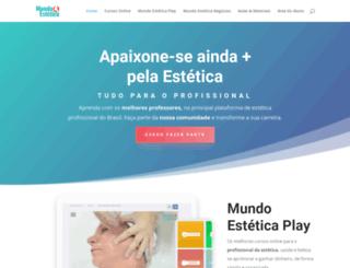 mundoestetica.com.br screenshot