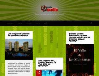 mundoinsolito.net screenshot
