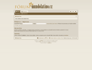 mundolatino.cz screenshot