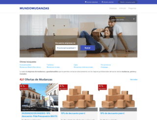 mundomudanzas.com screenshot