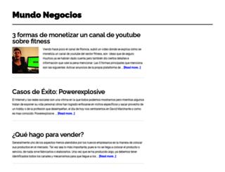 mundonegocios.net screenshot