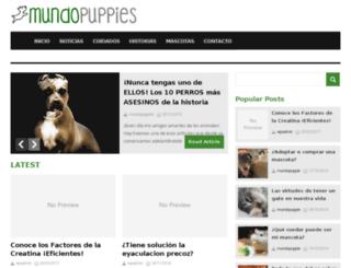 mundopuppies.com screenshot