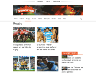 mundorugby.cienradios.com.ar screenshot