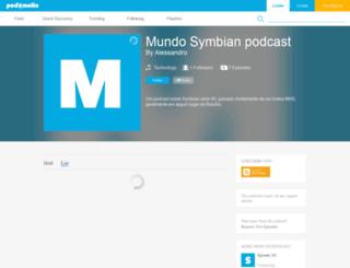 mundosymbian.podomatic.com screenshot