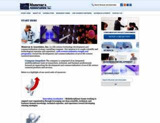 munevarassociates.com screenshot