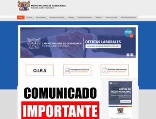 municasablanca.cl screenshot