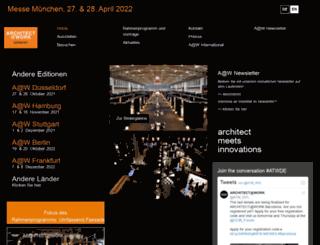 munich.architectatwork.de screenshot
