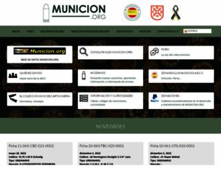 municion.org screenshot