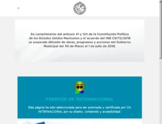 municipiodesolidaridad.gob.mx screenshot