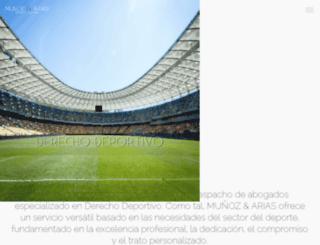 munozyarias.com screenshot