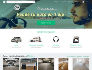 munro.olx.com.ar screenshot