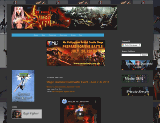 muonlinequestguide.blogspot.com screenshot