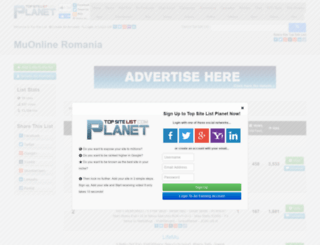 muonlineromania.top-site-list.com screenshot