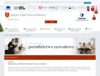 mup.kielce.pl screenshot