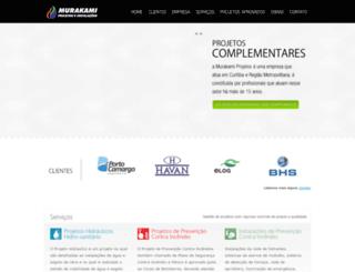 murakamiprojetos.com.br screenshot