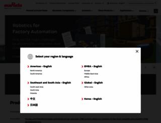murata.com screenshot