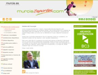 murciadeportes.com screenshot