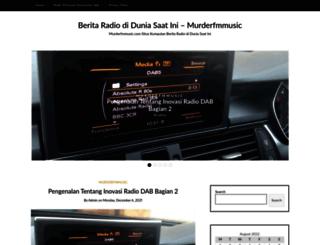 murderfmmusic.com screenshot