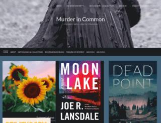 murderincommon.wordpress.com screenshot
