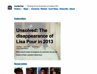 murdermap.co.uk screenshot