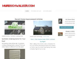 murdochwalker.com screenshot
